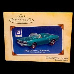 Hallmark Keepsake Ornament 1968 Pontiac Firebird
